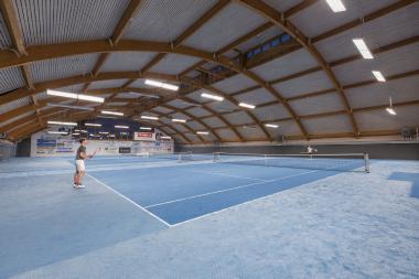 3-fach Tennishalle