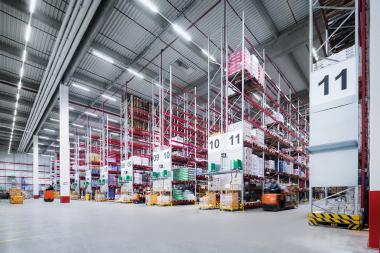 REWE Logistikzentrum