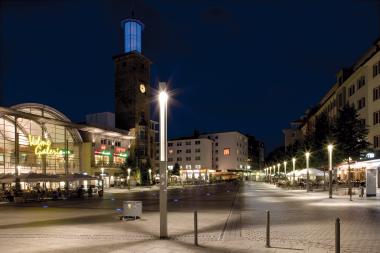 Außenbeleuchtung Innenstadt