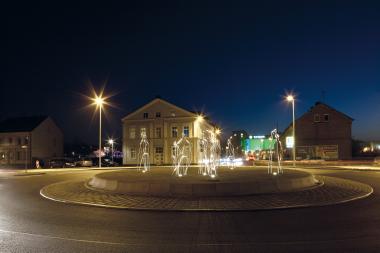 Kreisverkehr Bahnhofstrasse