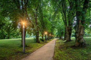 Parkanlagen Sennhof, Badmatte, Kurgebiet