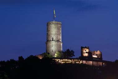 Godesburg Burgbeleuchtung